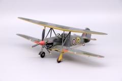 Hillson F.H.40 Slip Wing Biplane