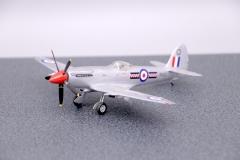 Spitfire F22, PK433, 602 Sqn RAuxAF, Turnhouse, 1954