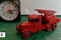 5 PTS Fire Engine