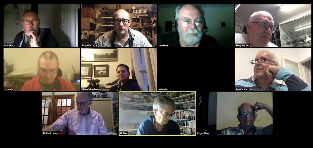 01st Sept Virtual Club Night 2020