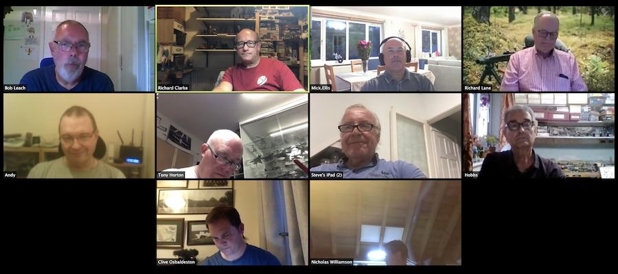 15th September Virtual Club Night 2020